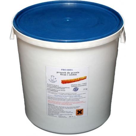 Specjalistyczny proszek do prania firan i zasłon białych i kolorowych 25kg